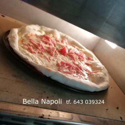 Pizzes i menjars Bella Napoli