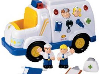 Ambulancia habladora
