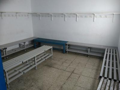 Reformes als vestuaris del camp de futbol
