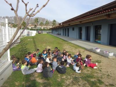Mobiliari exterior de joc a la Llar d'Infants