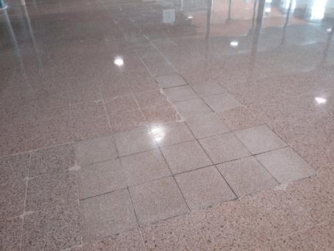 Poliment del paviment