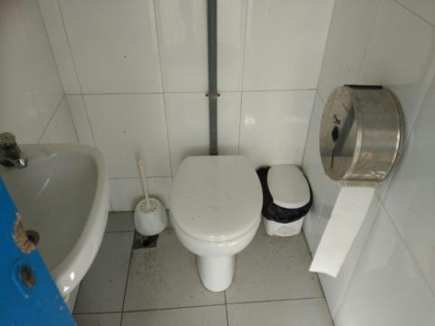 Reformes dels lavabos dels camp de futbol