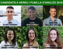 Candidats a Pubilla i Hereu d'Anglès 2019